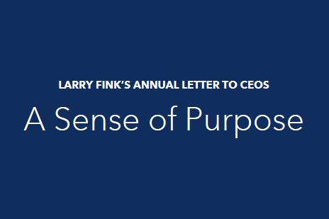 BlackRock CEO Larry Fink's Annual Letter to CEOs   The Board Institute